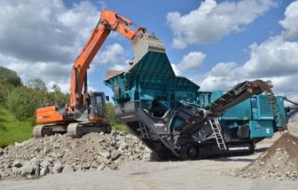 Manchester demolition Crushing and screening
