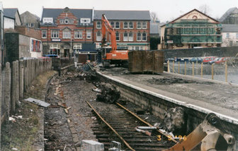 Railway demolition